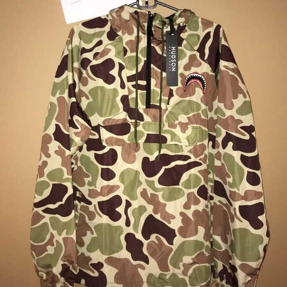 f98563b00df2 Hudson Outerwear Duck Camo Jacket Bape Supreme
